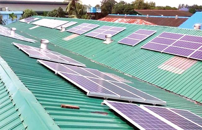 lắp đặt điện mặt trời cho nhà xưởng