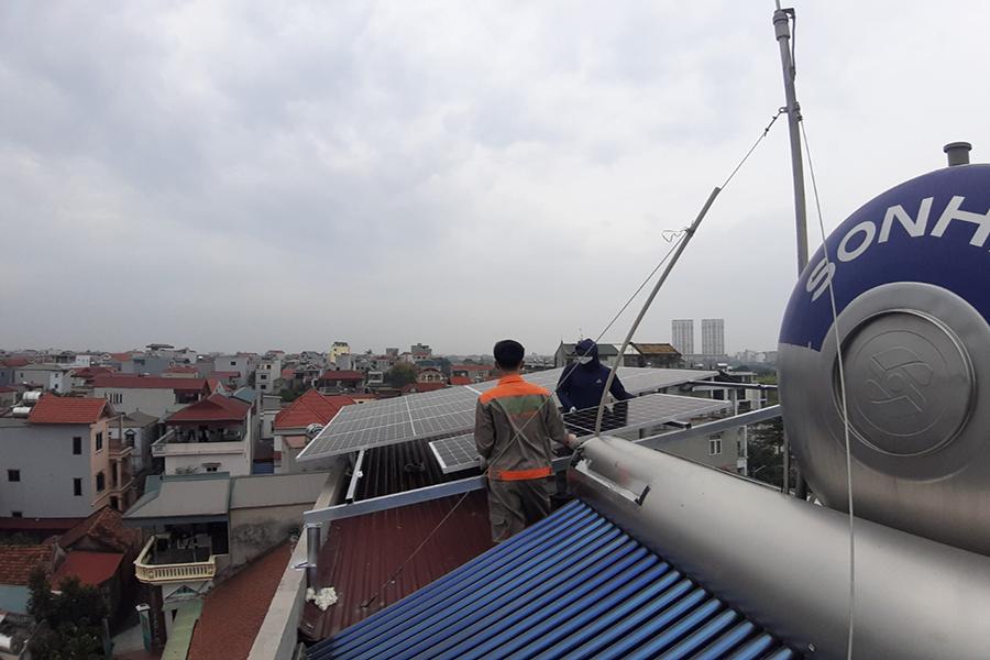 lắp điện mặt trời năng lượng xanh việt nam