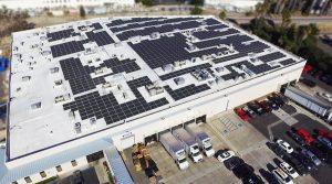 điện mặt trời cho trung tâm thương mại