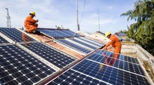 giá bán điện mặt trời cho evn