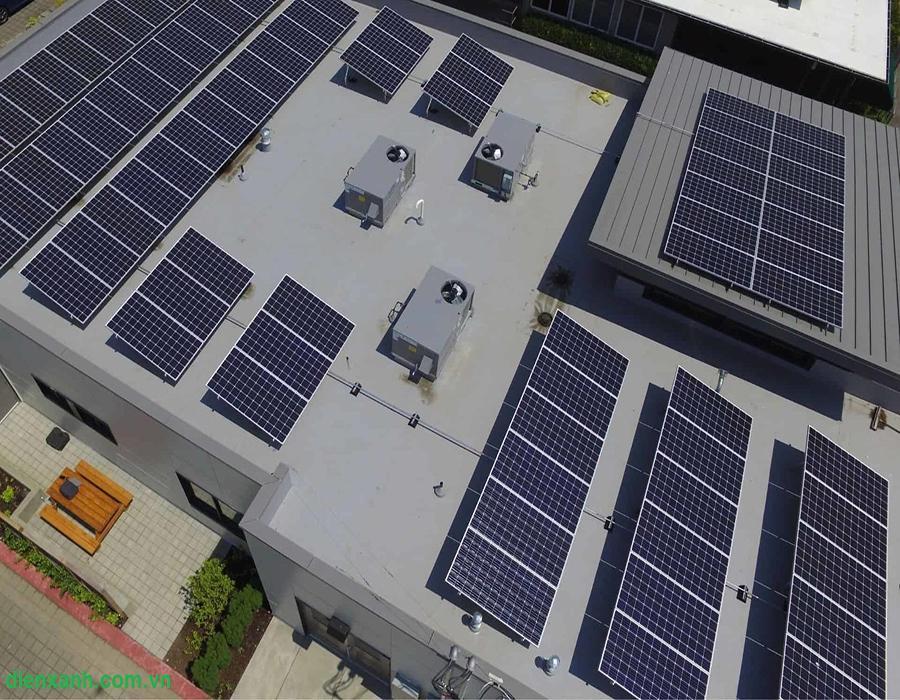 giá lắp điện mặt trời mới nhất 2021